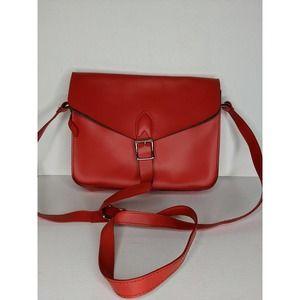 Angela Roi Red Crossbody Bag
